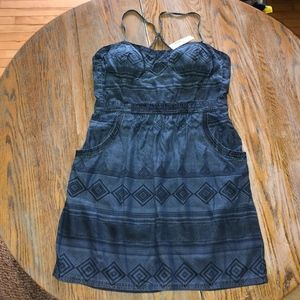AMERICAN EAGLE sp strap shaped cup dress/NWT